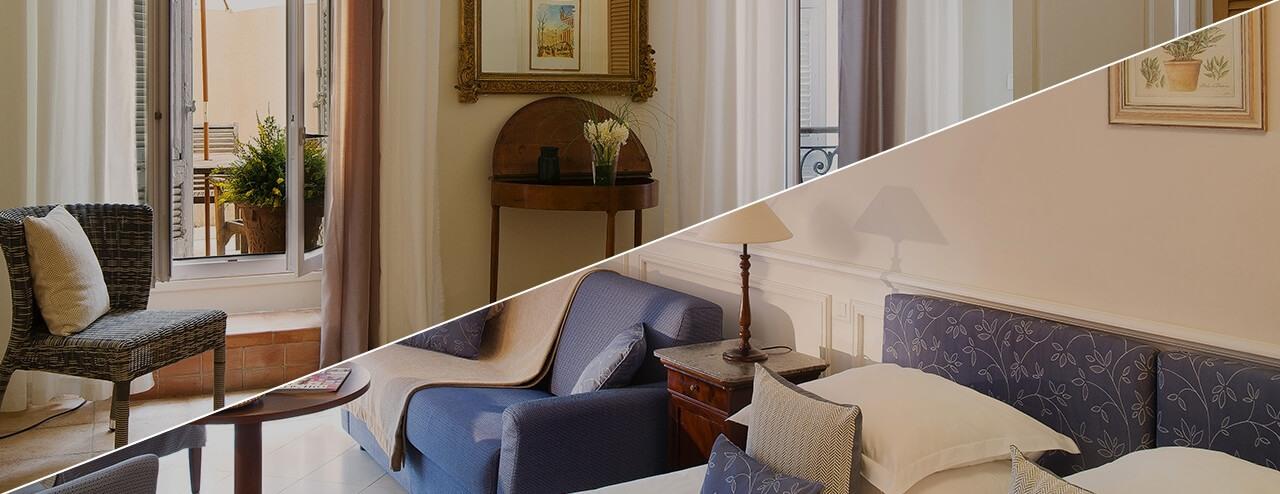 Villa d'Estelle - Chambre classique ou Suite Luxe