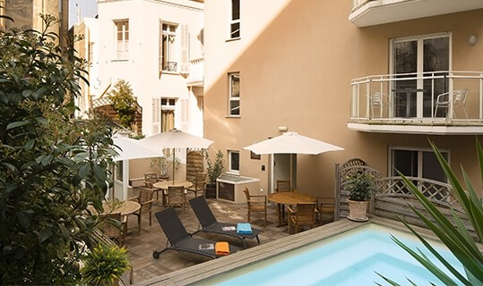 Villa d'Estelle - Piscine et terrasse