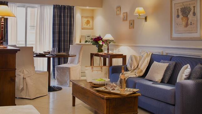 Villa d'Estelle - salon confortable